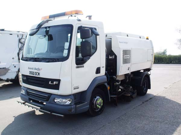 Ref: 61 - 2011 DAF Scarab Merlin XP Road Sweeper For Sale