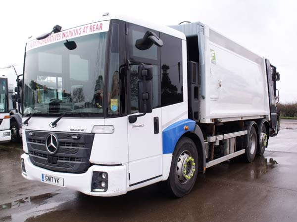 REF 99 - 2017 Mercedes Econic Euro 6 Refuse Truck For Sale