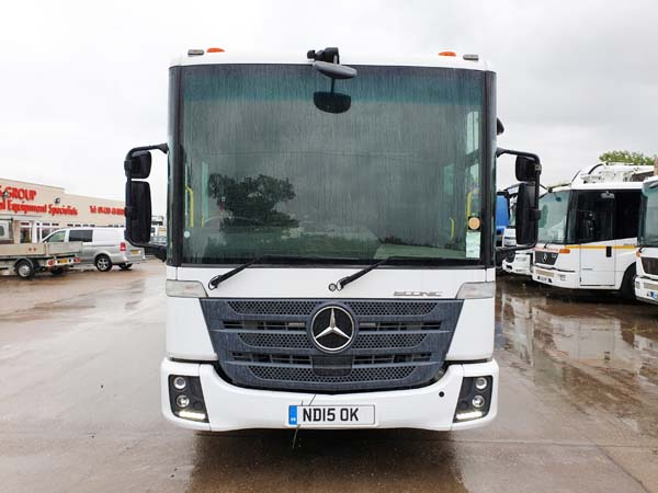 REF 104 - 2015 Mercedes Econic Heil Refuse Truck For Sale