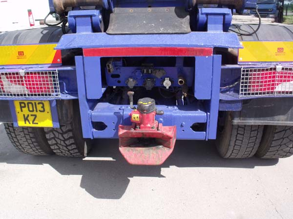 REF 167 - 2013 Scania Boughton Draw Bar Hook Loader For Sale