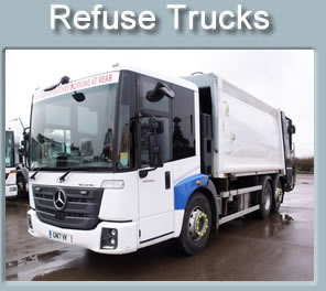 Refuse Trucks for sale