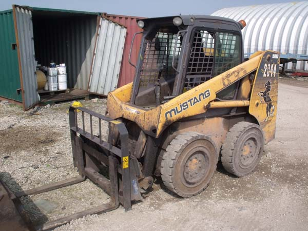Hopdeals com - Ref: 85 - 2008 Mustang 2044 Skid Steer For Sale