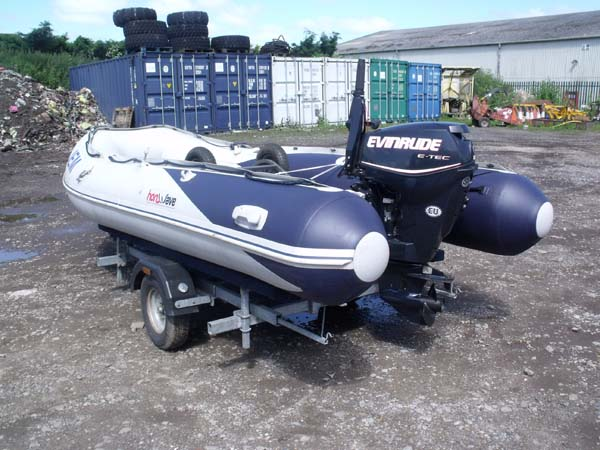 Ref: 34 - 2013 Honwave T40 with Evinrude 25HP outboard For Sale