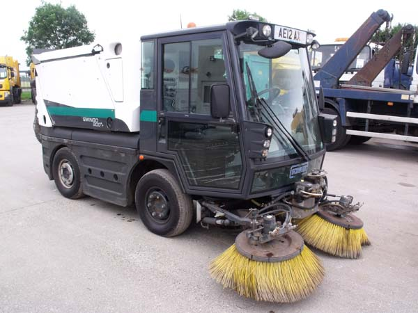 Ref: 108 - 2012 Schmidt Swingo Road Sweepers For Sale