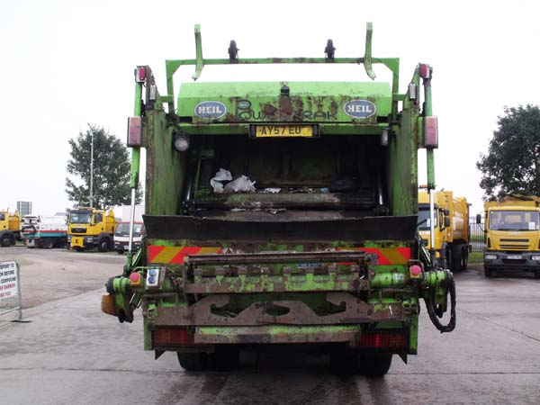 Ref: 77 - 2008 Mercedes Heil REL Refuse Truck For Sale