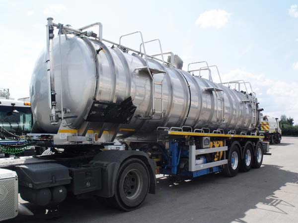 Ref: 71 - 2013 Crossland 6600 gallon Stainless steel Vac tanker For Sale