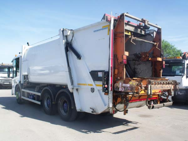 Ref: 83 - 2012 Mercedes Econic Faun Refuse Truck For Sale