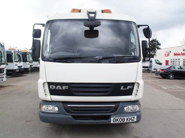 Ref: 152  - 2008 DAF 12 Ton NTM Refuse Truck For Sale