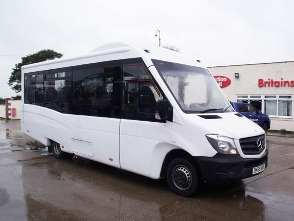 Ref: 149 - 2015 Mercedes Sprinter 513 16 seat mini bus For Sale