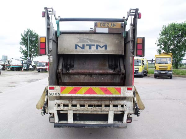 Ref: 65 - 2012 DAF 7.5 Ton Refuse Truck For Sale