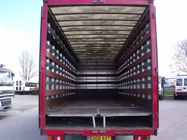 Ref: 118 - 2008 Iveco Removals truck For Sale