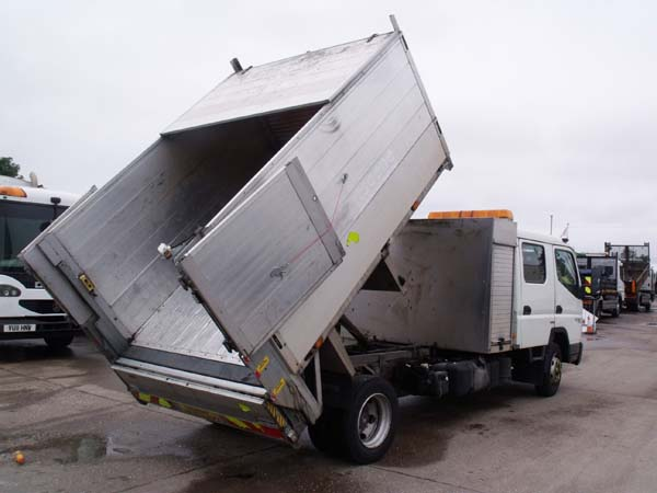 Ref: 130 - 2012 Mitsubishi Crew Cab Tipper For Sale