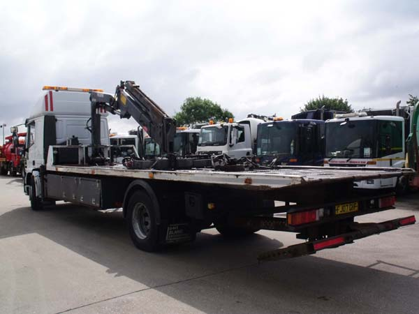 Ref: 60 - 2007 Iveco Tilt and Slide with Bonfigoli Street lifter For Sale
