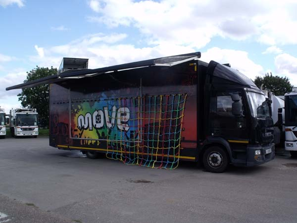 Ref: 94 - Iveco 12 ton Mobile Stage / exhibition unit For Sale