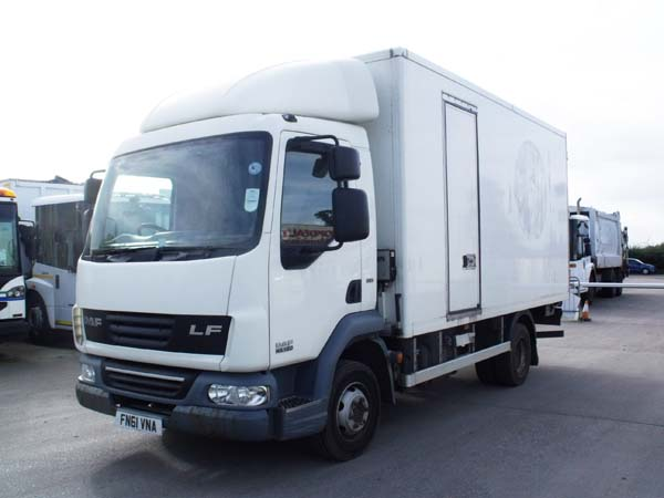 Ref: 38 - 2011 DAF 2 compartment fridge lorry For Sale