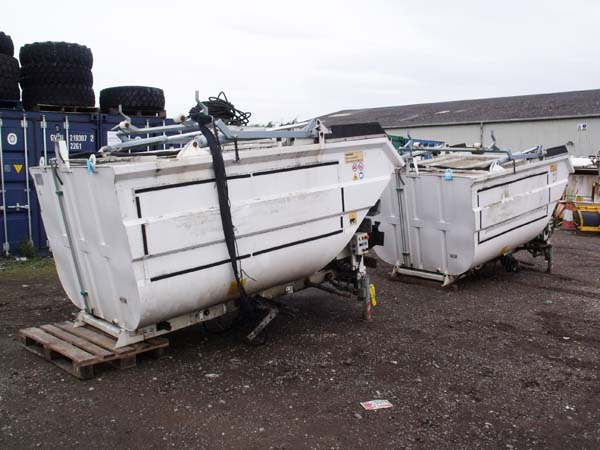 2013 Farid Micro L Refuse Truck Body For Sale