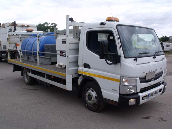 Ref: 33 - 2015 Mitsubishi Water and Diesel Bowser For Sale