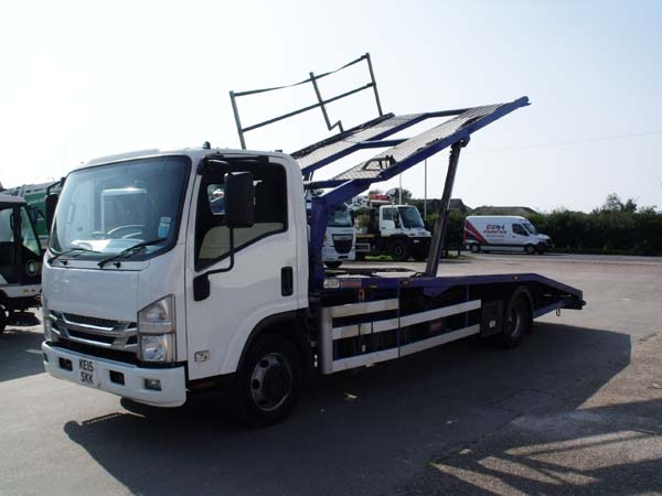Ref: 26 - 2015 Isuzu Roger Dyson Recovery Truck For Sale