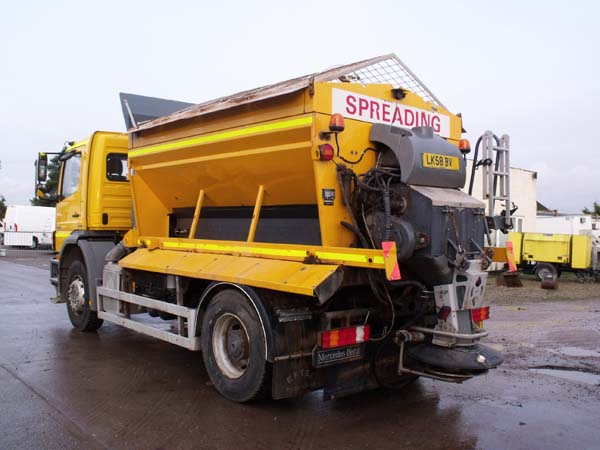 Ref: 41 - 2008 Mercedes Giletta Gritter For Sale
