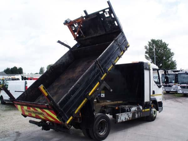 REF 96 - 2016 DAF 7.5 ton Euro 6 Tipper For Sale
