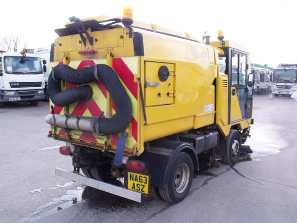Ref: 125 - 2014 Scarab Minor Road Sweeper For Sale
