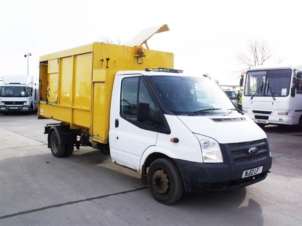 Ref: 108 - 2012 Ford Transit Linktip toploader For Sale