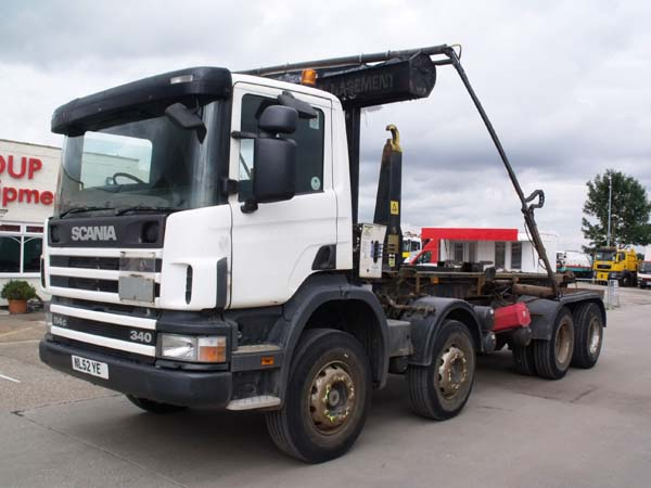 Ref: 48 - 2002 Scania Boughton Hookloader For sale