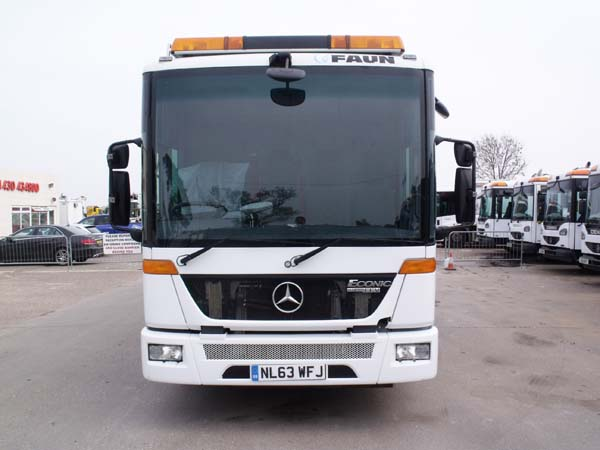 REF 22 - 2013 Mercedes Faun Refuse Truck For Sale