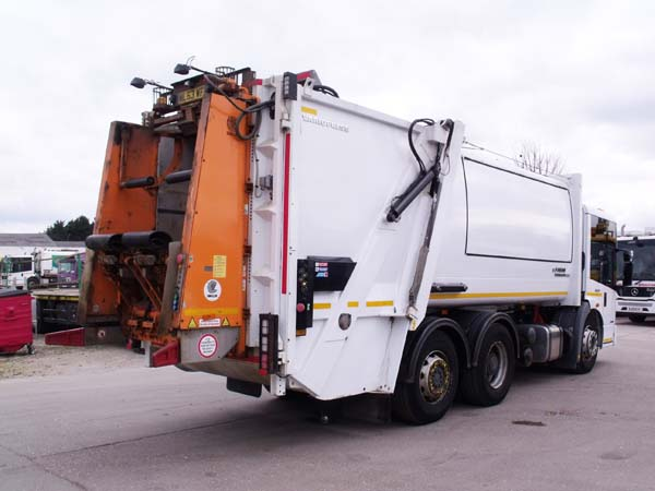 REF 138 - 2013 Mercedes Faun Refuse Truck For Sale