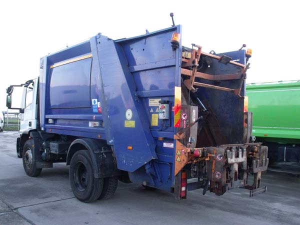 Ref: 70 - 2009 Iveco 15 ton Refuse Truck For Sale