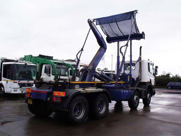 REF 30 - 2013 Scania Boughton Hook Loader For Sale