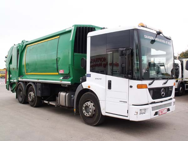 Ref: 85 - 2012 Mercedes Econic Geesink Norba Refuse Truck For Sale