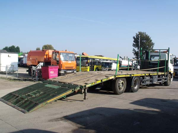 Ref: 44 - 2011 DAF Cheesewedge Plant Lorry For Sale