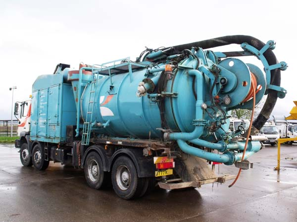 Ref: 102 - 1998 MAN Eurovac High Airflow Suction Tanker For Sale