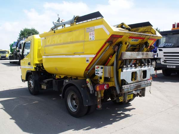 Ref: 73 - 2012 Mitsubishi Refuse Truck For Sale