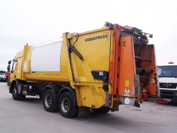 Ref: 97 - 2011 Volvo Faun Variopress Refuse Truck For Sale