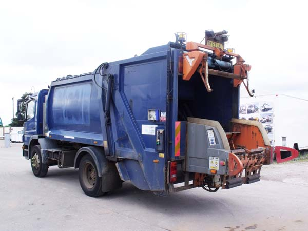 Ref: 17 - 2007 Mercedes 13.5 Ton Refuse Truck For SaleRefuse Truck For Sale