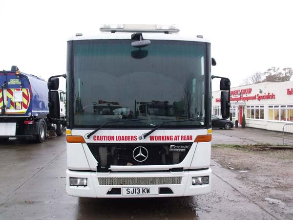 Ref: 103 - 2013 Mercedes Econic Split Body Refuse Truck For Sale
