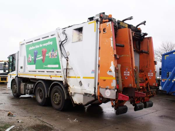 Ref: 89 - 2013 Mercedes Econic Split Body Refuse Truck For Sale