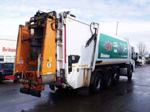 Ref: 06 - 2013 Mercedes Econic 8x4 Faun Refuse Truck For Sale