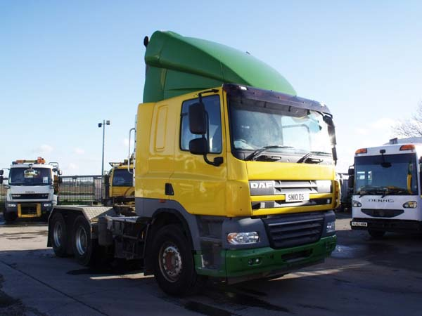 Ref: 94 - 2010 DAF 6x4 Tractor Unit For Sale