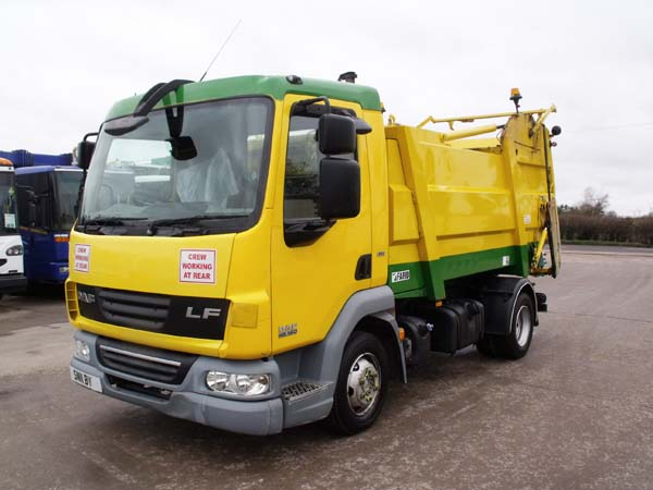 Ref: 07 - 2011 DAF 7.5 Ton Refuse Truck For Sale