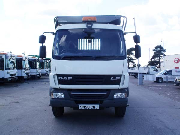 Ref: 55 -2008 DAF Extending Arm Skip Lorry For Sale