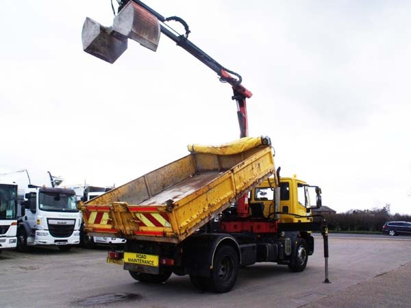 Ref: 94 - 2012 Iveco tipper grab for sale