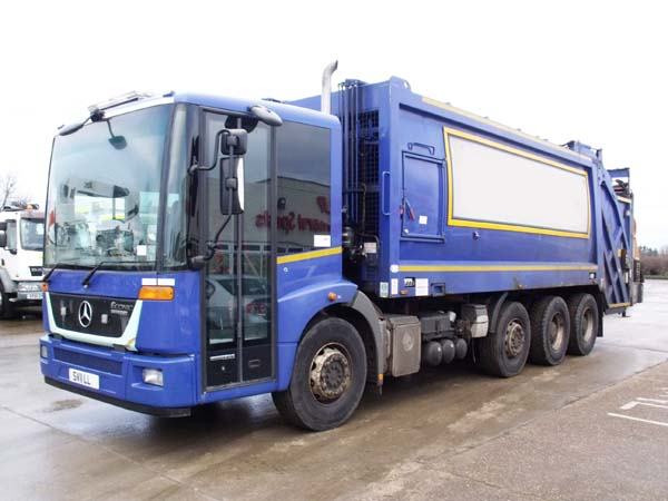 Ref: 35 - 2011 Mercedes Twin Pack Refuse Truck For Sale