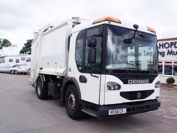 Ref: 13 - 2009 Dennis Narrow Track Refuse Truck For Sale