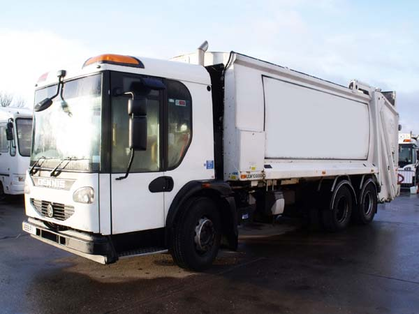 Ref: 107 - 2010 Dennis Olympus Refuse Truck For Sale