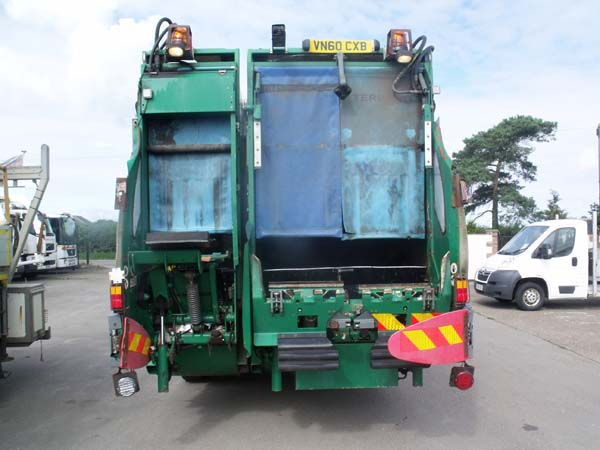 Ref: 143 - 2011 Dennis Twinpack 70/30 split Refuse Truck For Sale