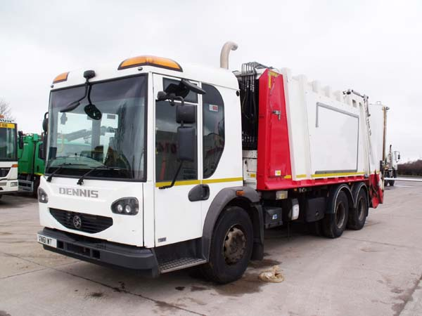 Ref: 24 - 2011 Dennis Olympus Refuse Truck For Sale