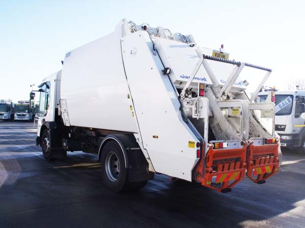 Ref: 90 - 2011 Dennis Euro 5 Garwood Dual Pact Refuse Truck For Sale